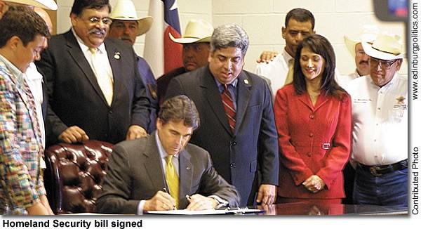 Homeland Security bill signed