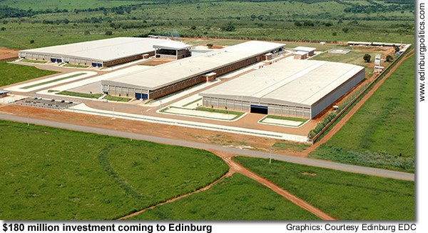 Santana Textiles Corporation of Brazil to build 0 million manufacturing plant in Edinburg