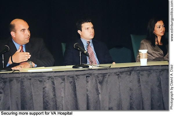 Land Commissioner Jerry Patterson supports looking at all state funds for Valley VA Hospital