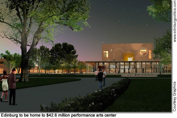 New UTPA performance arts center part of Edinburg's plans for dynamic  transformation of downtown region - Titans of the Texas Legislature