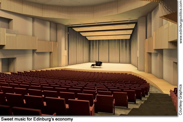 New UTPA performance arts center part of Edinburg's plans for dynamic  transformation of downtown region