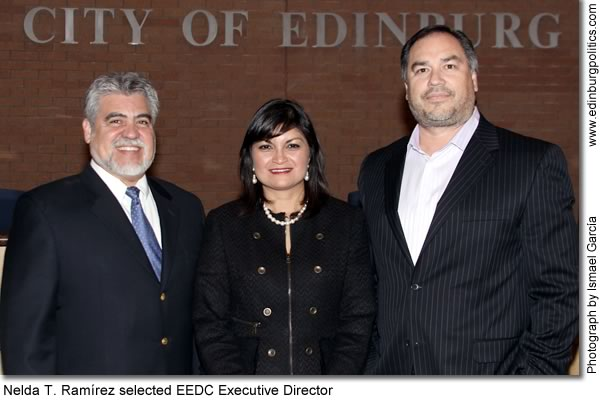Nelda T. Ramírez, a proven leader, accepts three-year contract to continue leading Edinburg Economic Development Corporation - Titans of the Texas Legislature