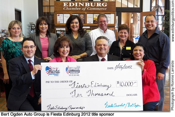 Jaime A. Rodríguez off to fast start in shaping Edinburg economic development successes - Titans of the Texas Legislature