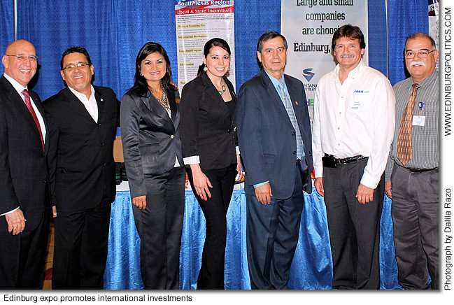 Edinburg's pro-business policies, safe environment promoted by Edinburg  Economic Development Corporation to recruit top Mexican investors