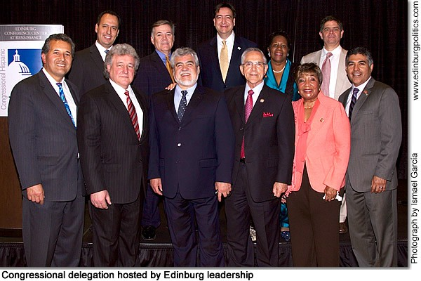Mayor García rallies congressional delegation to be part of Edinburg, Valley transformation