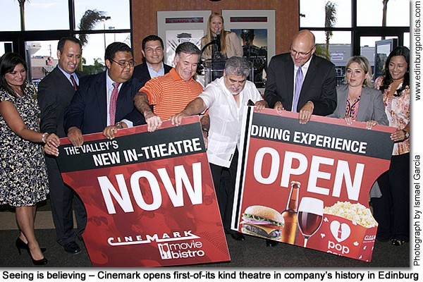 Seeing is believing – Cinemark opens first-of-its kind theatre in company's history in Edinburg