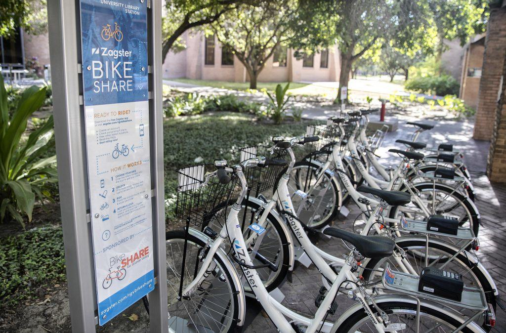 Community Bike Share Program, latest national trend in mobility, to be added to Edinburg's growing transportation system with help from Edinburg Economic Development Corporation