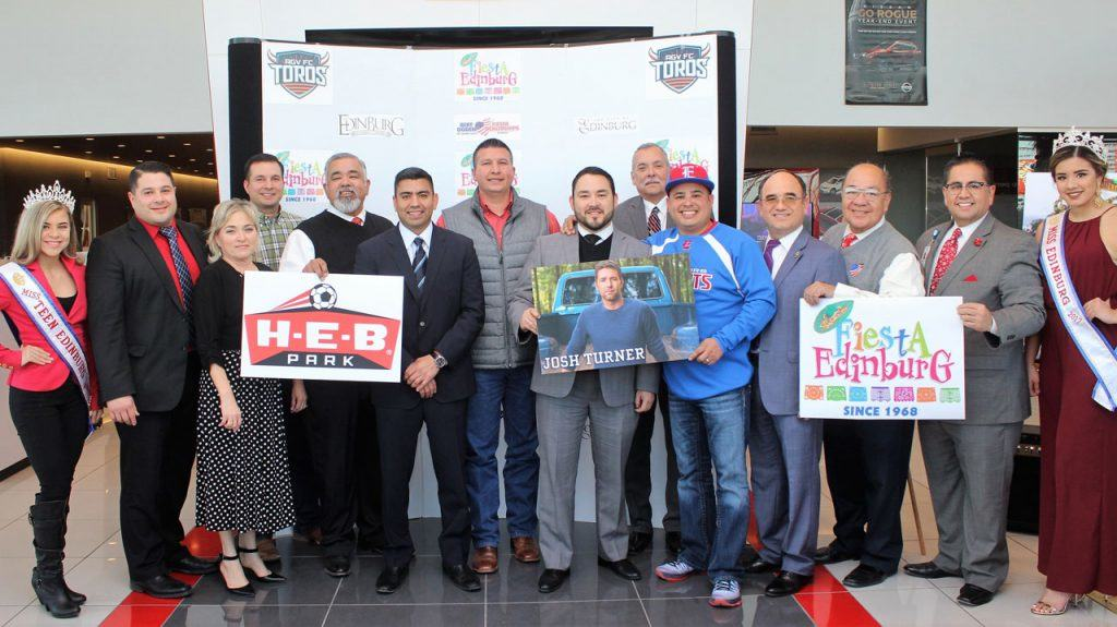 Fiesta Edinburg 2017, set for February 23 - 26, marks first time annual event will be held at H-E-B Park, the city's latest entertainment venue